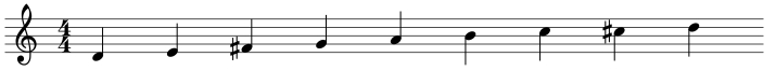 dominant scale