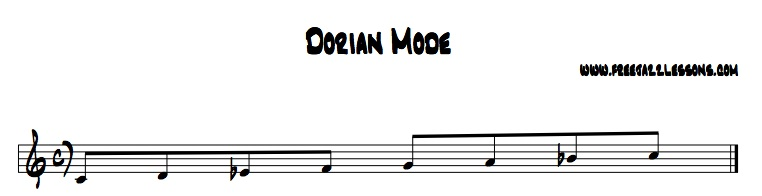 dorian mode