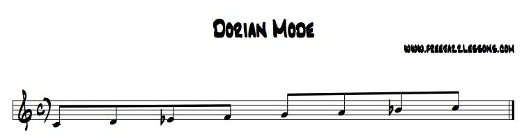 dorian mode